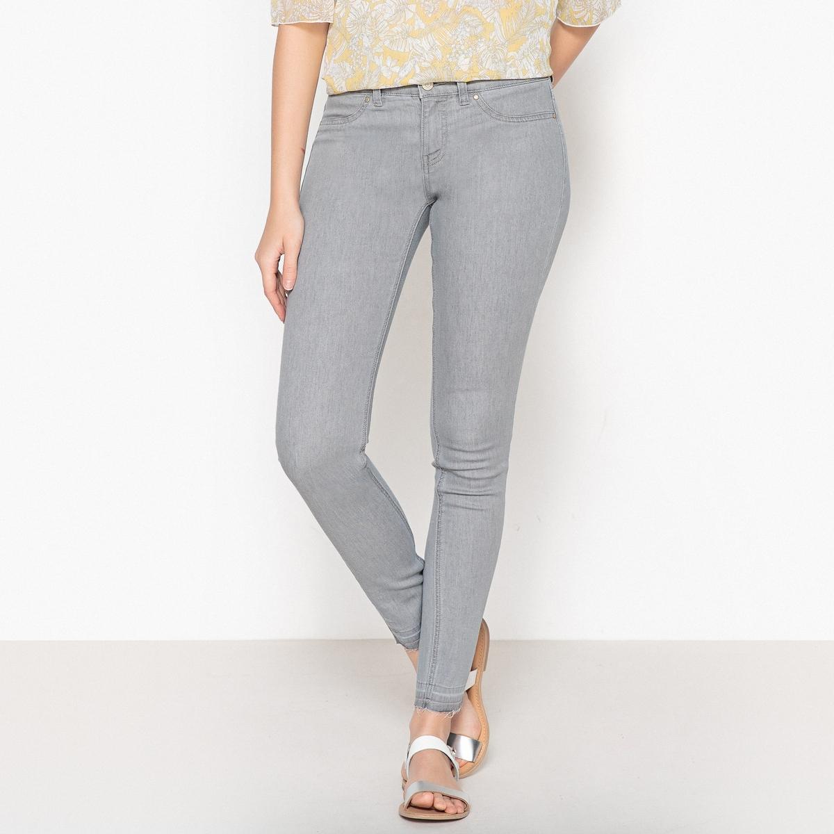 Джинсы узкие из денима стретч джинсы расклешенного покроя из денима стретч
