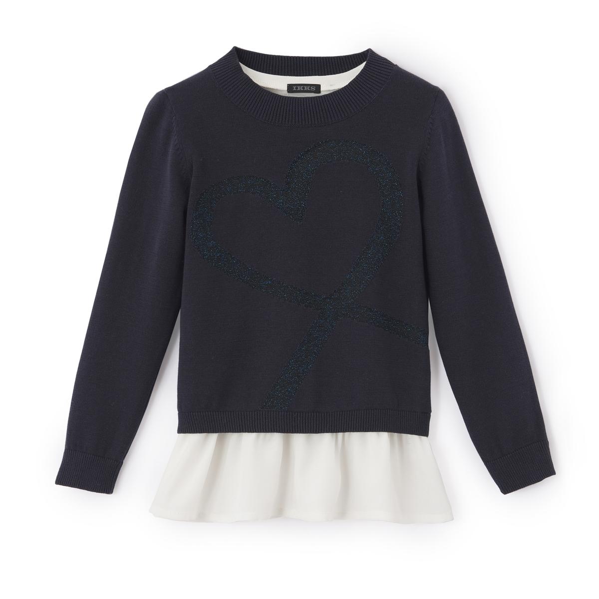 Пуловер с круглым вырезом, из тонкого трикотажа от IKKS JUNIOR
