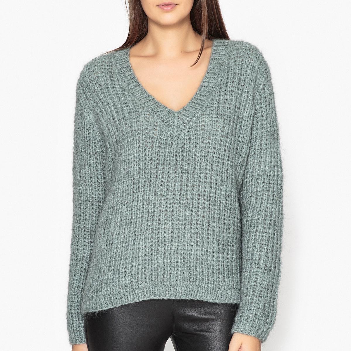 Пуловер с V-образным вырезом ODEON