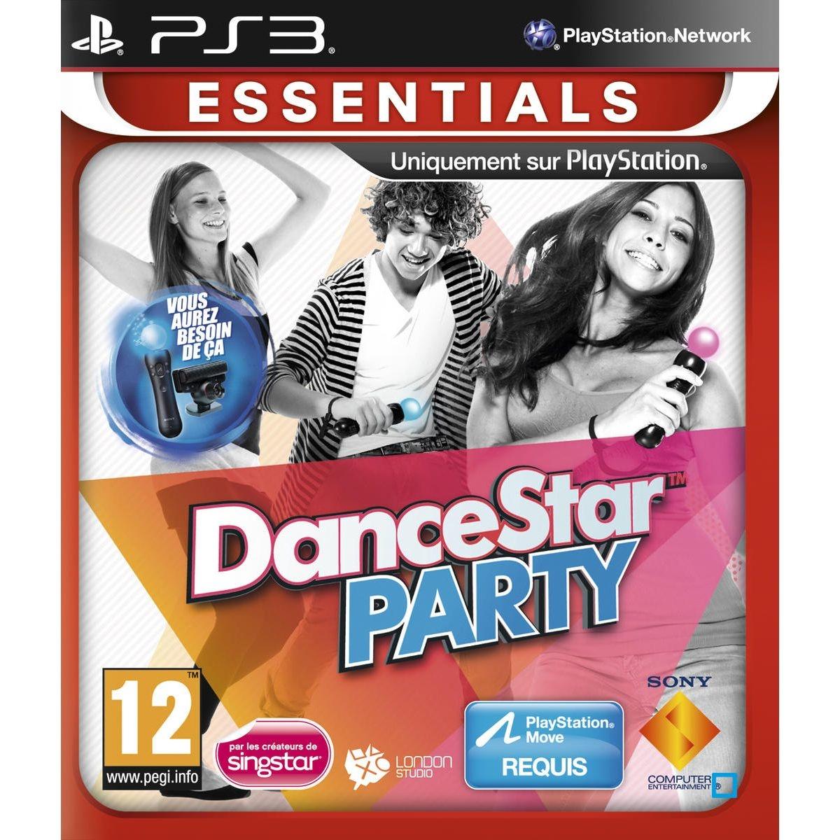 DanceStar Party - PS3 Essentials PS3