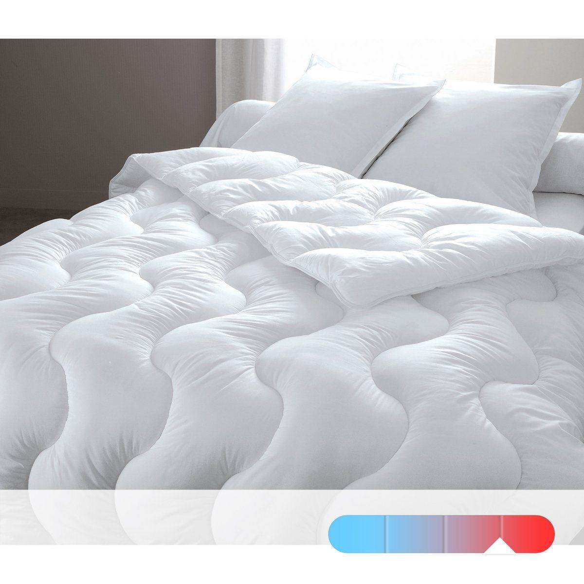 Одеяло синтетическое с чехлом из натурального материала, качество люкс от La Redoute