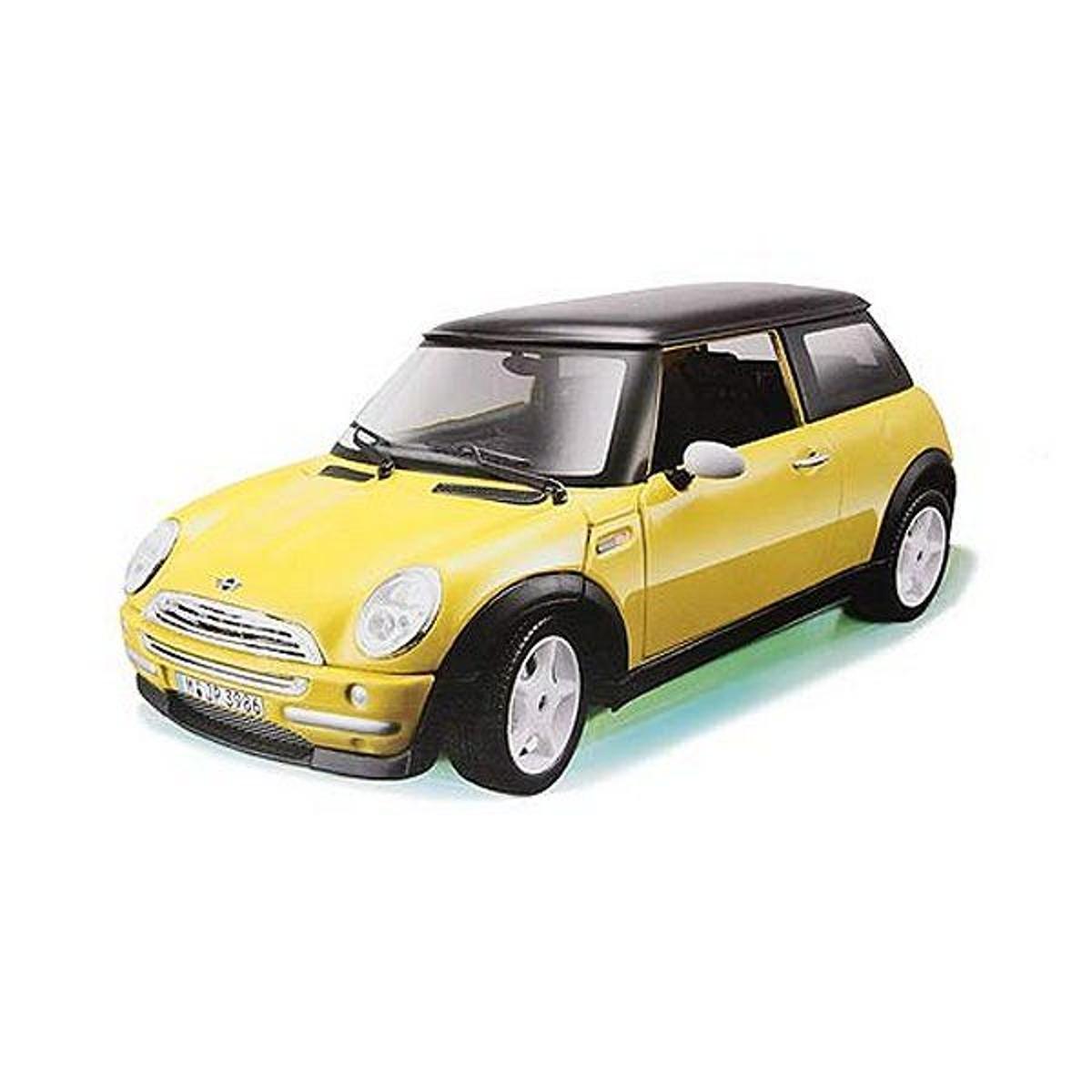 Modèle réduit Mini Cooper 2011 : Collection Kit  Echelle 1/32 Jaune