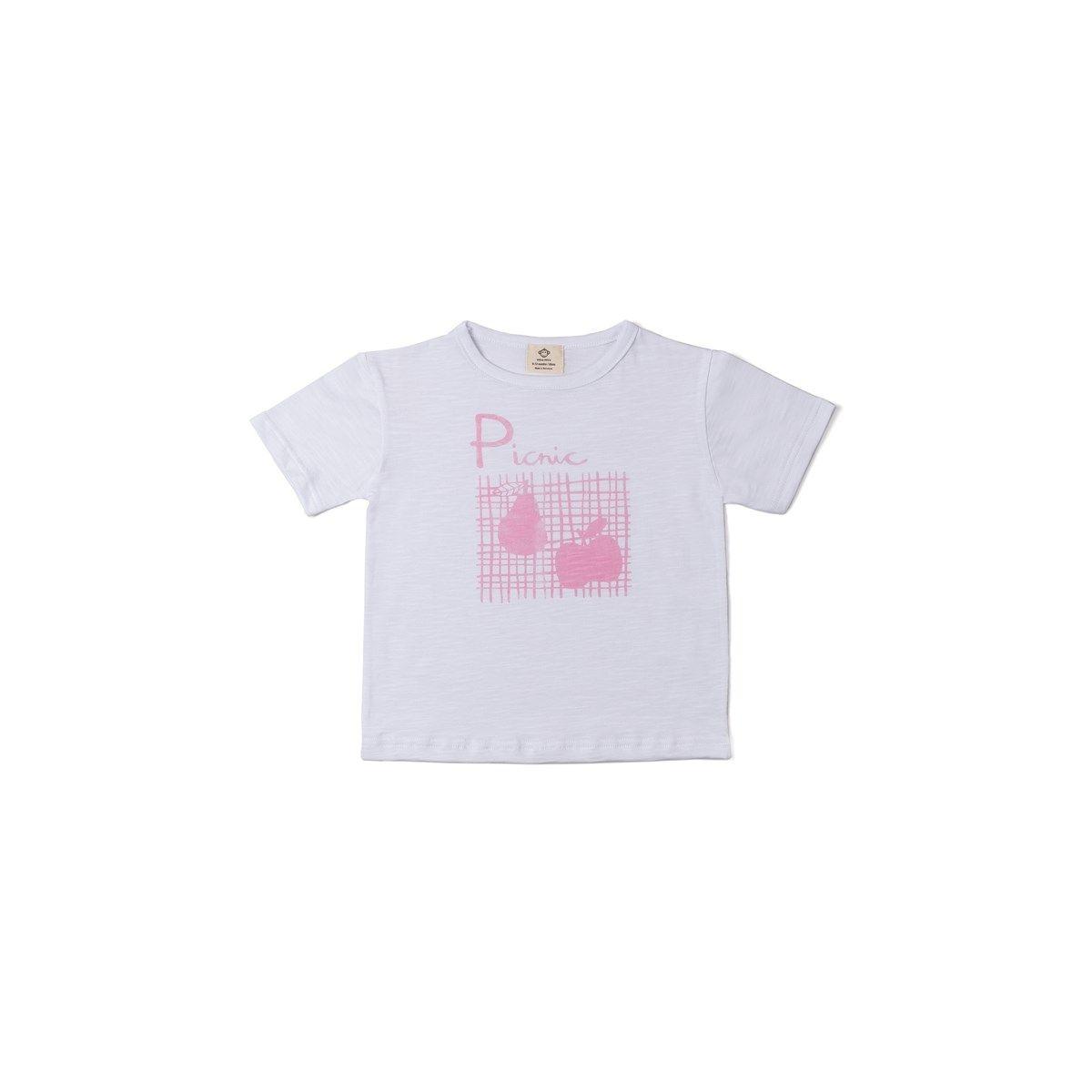 T-shirt coton bio PICNIC