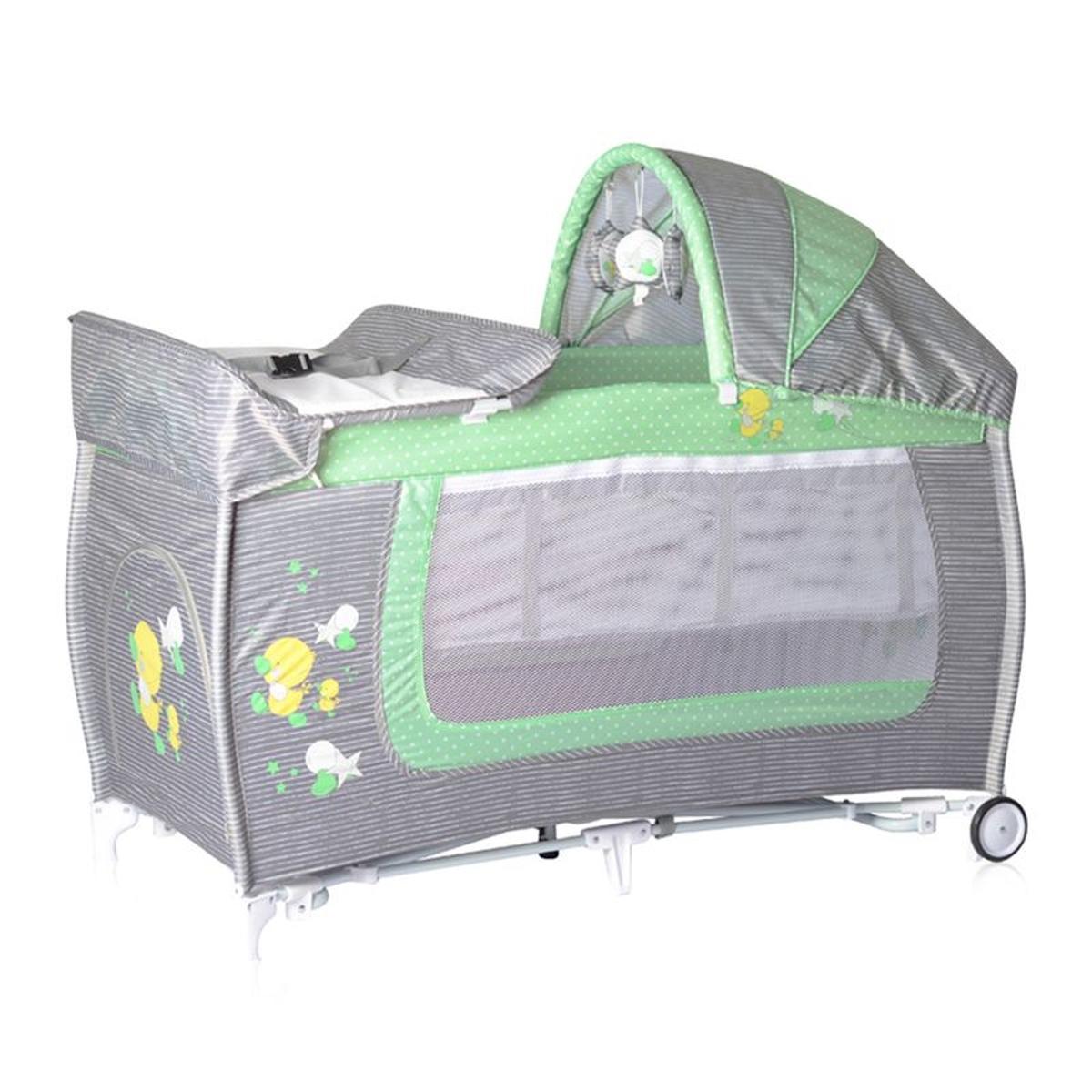 Lit Parapluie Bébé Lit Pliant + Mode Lit à Bascule Danny 2
