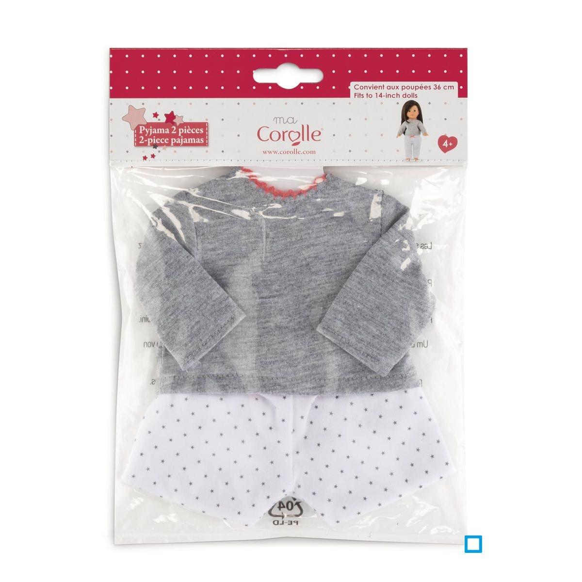 Pyjama 2 pièces pour poupée ma Corolle - CORDJH41