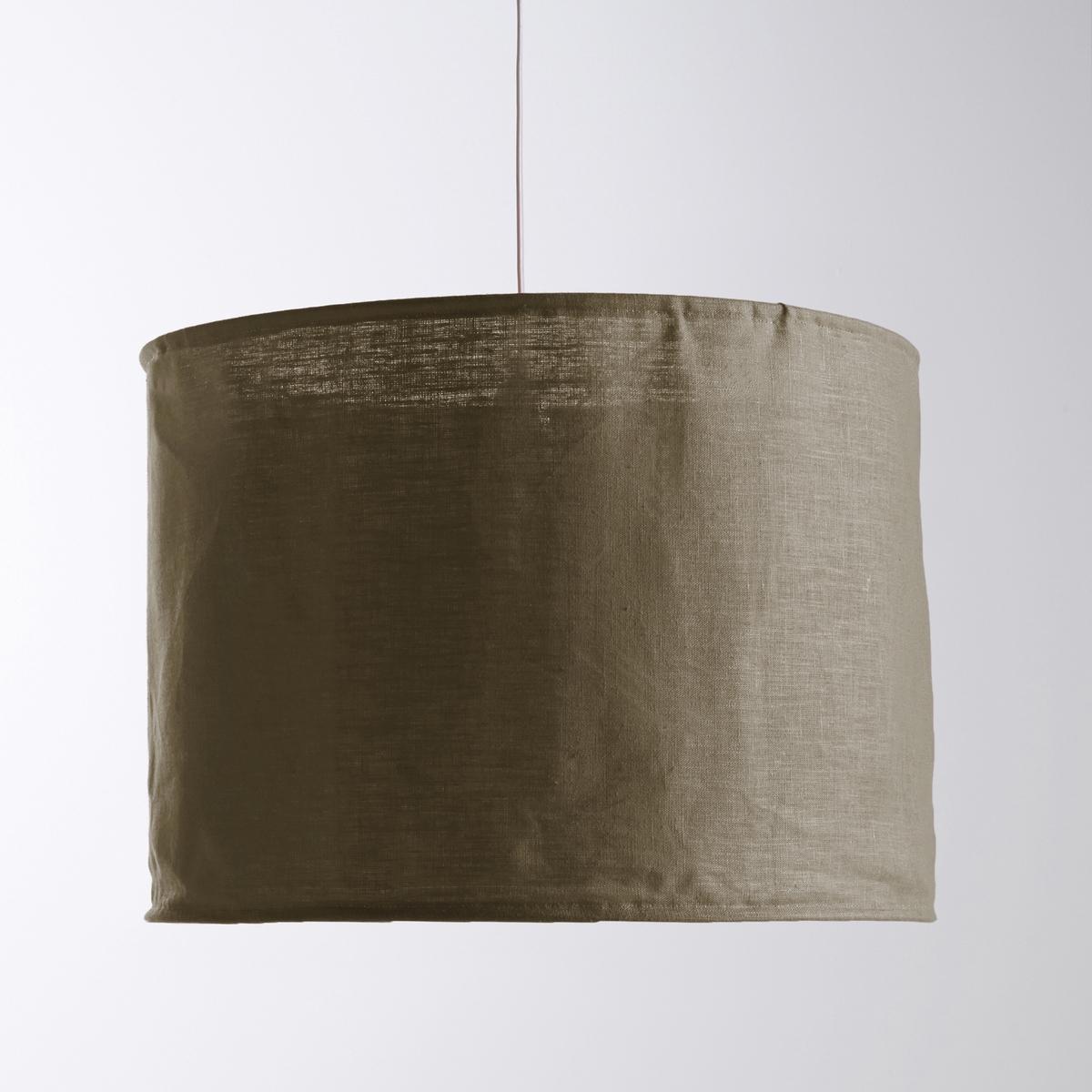 Светильник из жатого льна, ThadeОписание светильника Thade :НеэлектрифицированныйЦоколь E27 для лампы 60 Вт максимум (продается отдельно)Характеристики светильника Thade :Из жатого льна, жесткий каркас Всю коллекцию светильников вы можете найти на сайте laredoute.ru. Размер светильника из жатого льна Thade :Размер 1  :Диаметр : 40 смВысота : 33 см<br><br>Цвет: серо-коричневый,серый жемчужный,фиолетовый,экрю