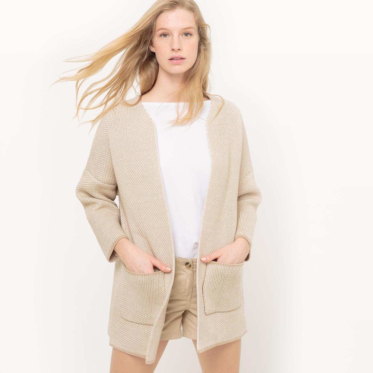 Кардиган-пальто из хлопка