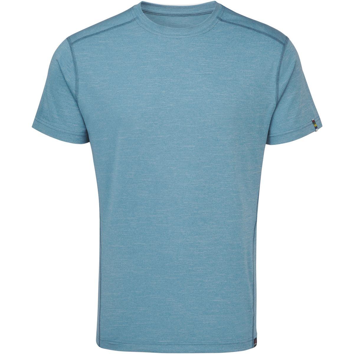Rinchen - T-shirt manches courtes Homme - bleu