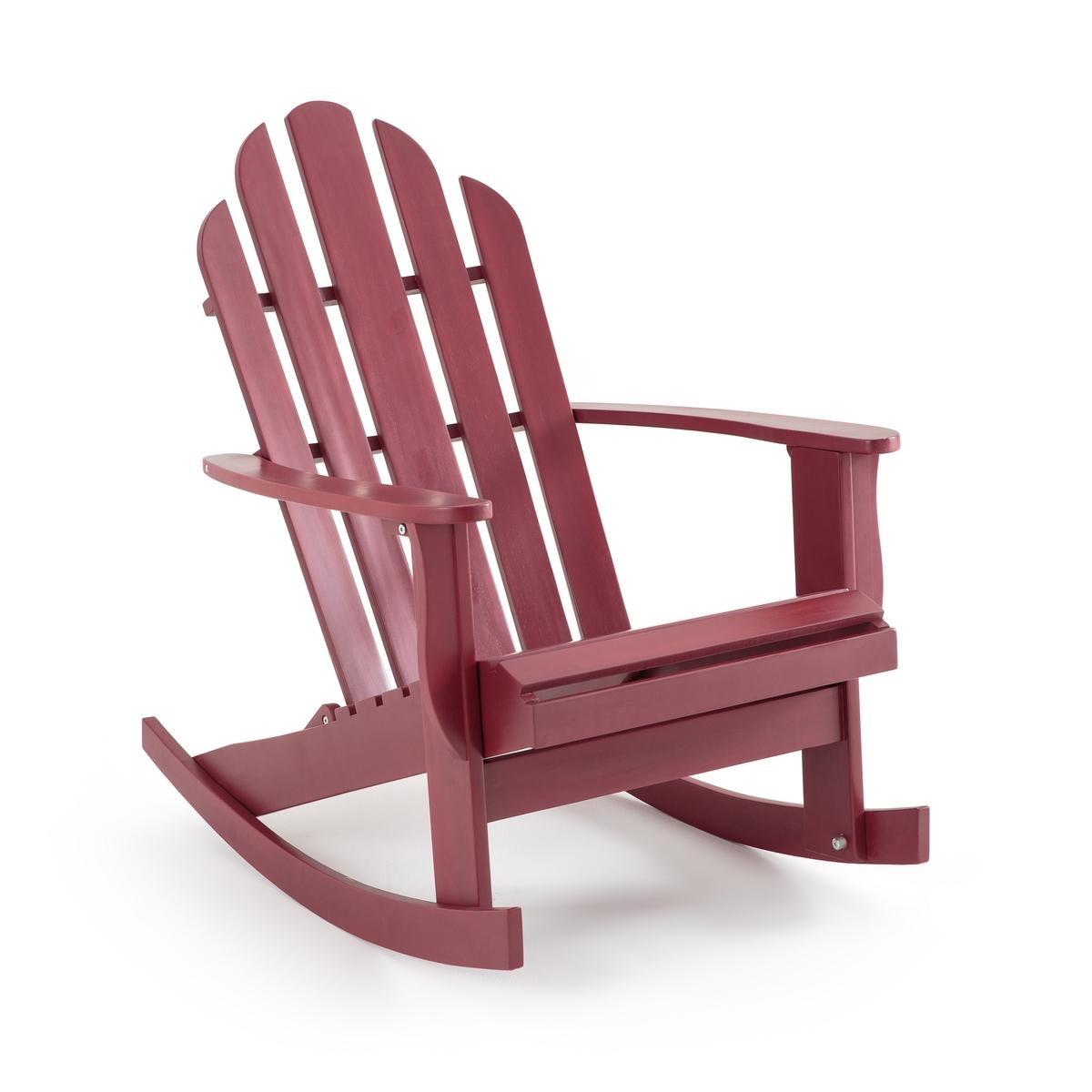 Sedia a dondolo da giardino Théodore, stile Adirondack