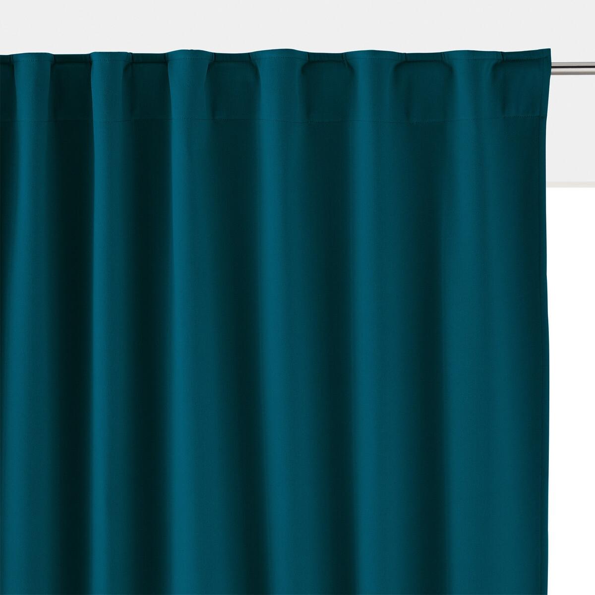 Занавеска LaRedoute Затемняющая термическая из 100 полиэстера Panason 250 x 140 см синий