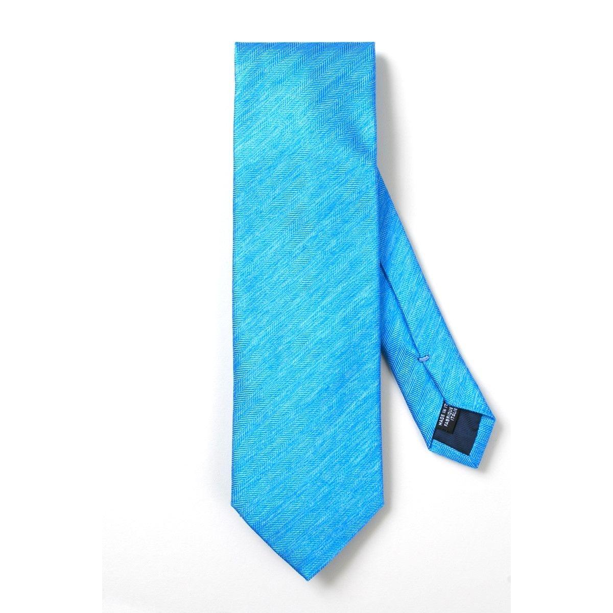 Cravate soie chevrons