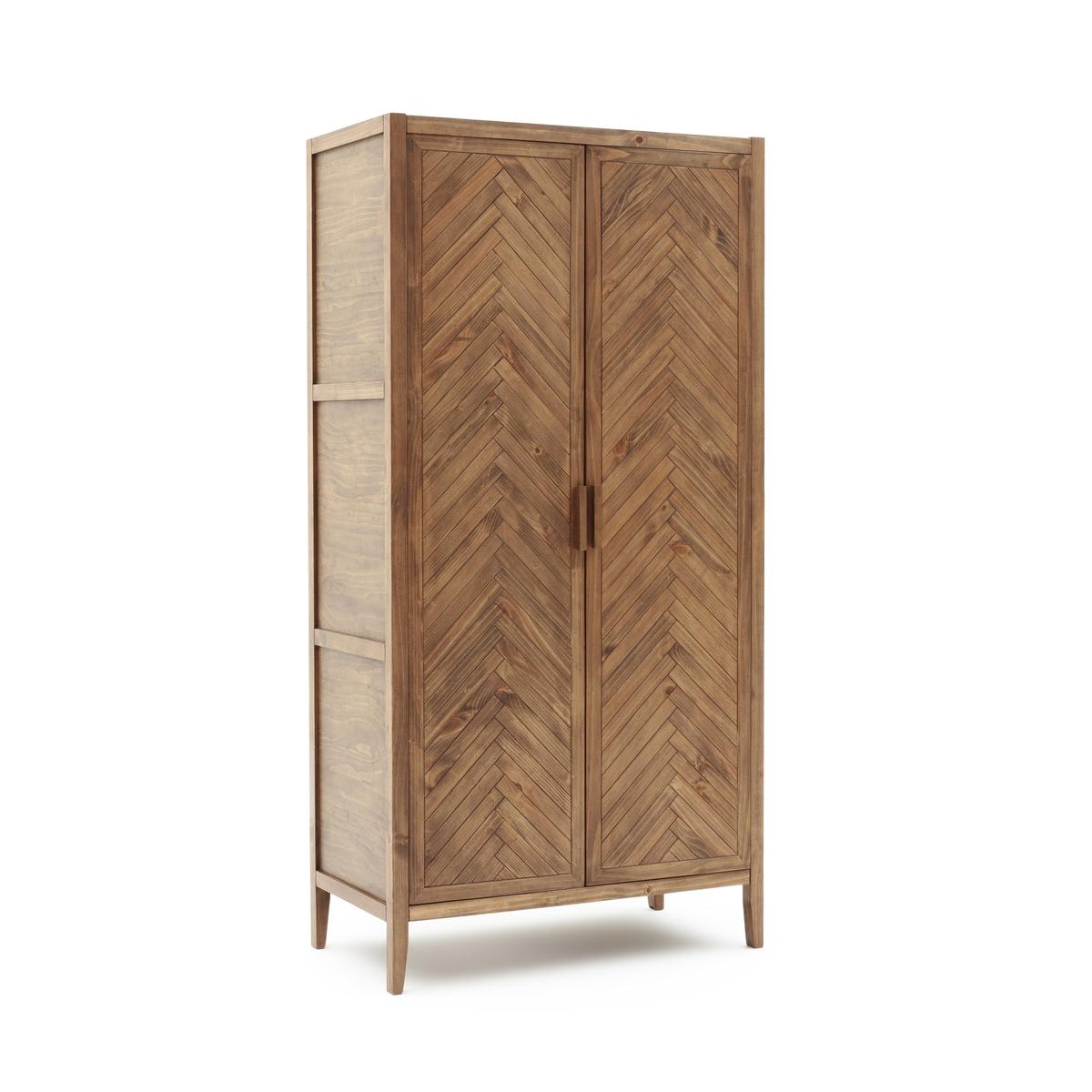 Шкаф с 2 дверками из массива сосны NOTTINGHAM столик из металла и дерева h высота 40 см nottingham