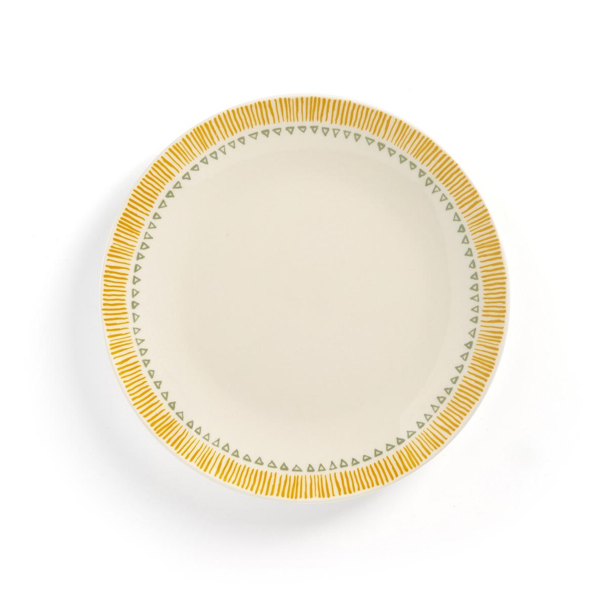 Комплект из десертных тарелок La Redoute IRUN единый размер другие комплект из 4 десертных тарелок sam baron