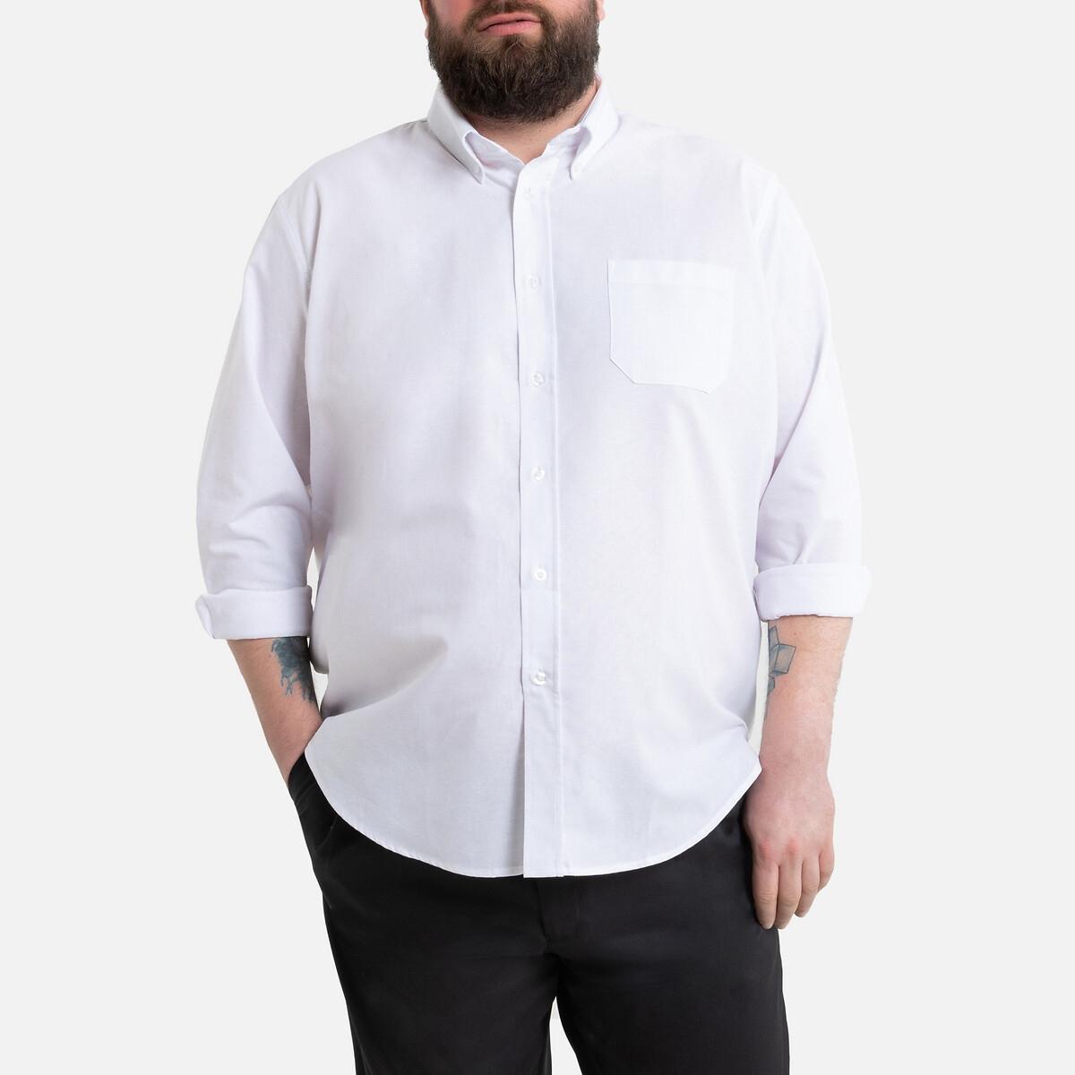 Camisa direita de mangas compridas, altura 1