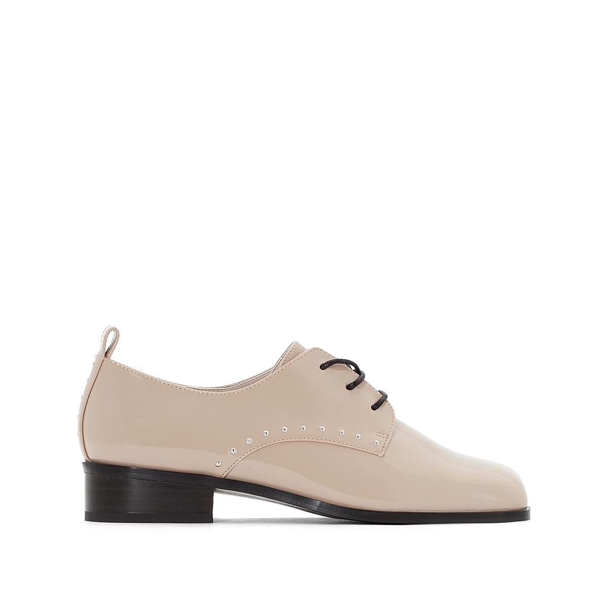 Ботинки-дерби с заклепками ботинки дерби синтетические