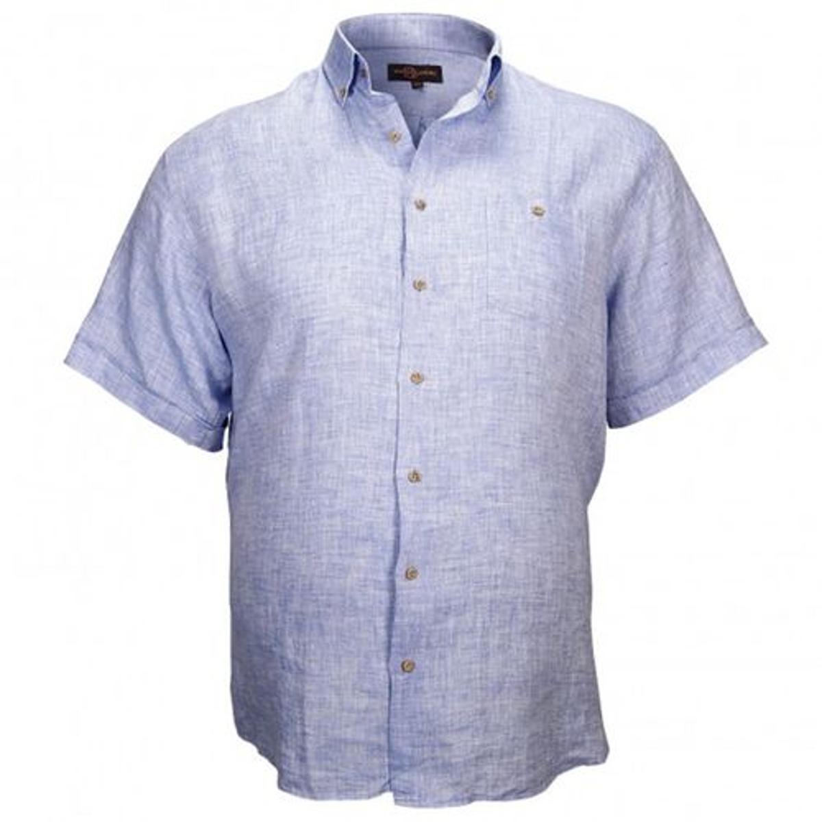 chemisette 100% lin monte carlo