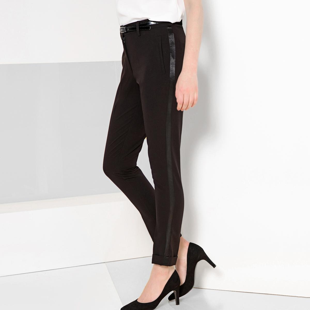 Imagen principal de producto de Pantalón recto tobillero, estilo esmoquin - Anne weyburn
