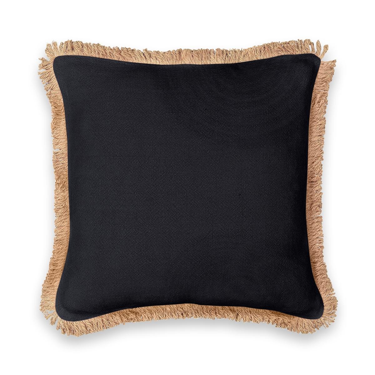 Чехол La Redoute На подушку из джута Jutty 50 x 50 см черный