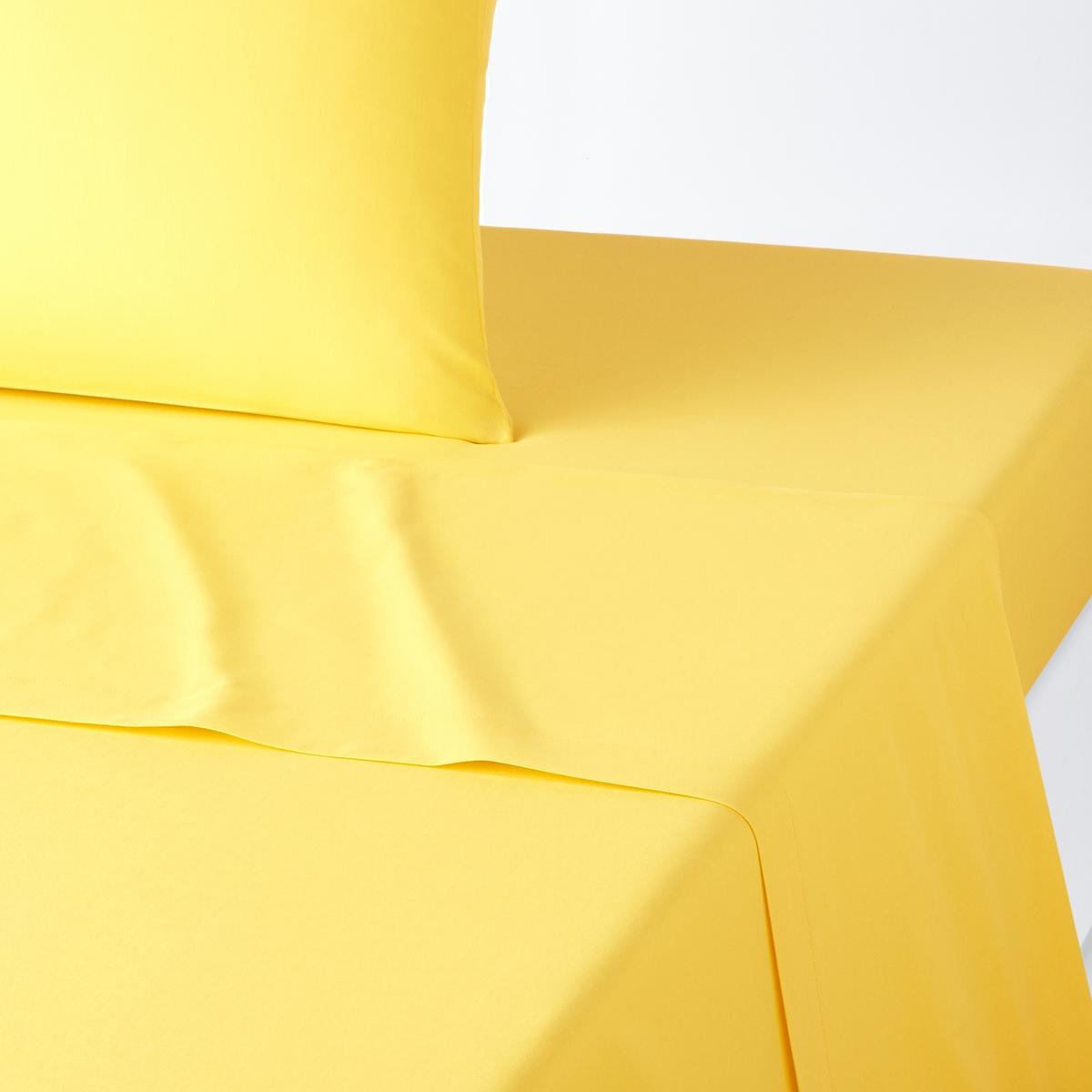 Простыня, 100% хлопокПростыня из 100% хлопка, ткань с плотным переплетением нитей .Отличная стойкость цвета при стирке при 60°. 57 нитей/см? : чем больше нитей/см?, тем выше качество материалаПроизводство осуществляется с учетом стандартов по защите окружающей среды и здоровья человека, что подтверждено сертификатом Oeko-tex®.  . Простыня :150 x 250 см: 1-сп . 1-сп??180 x 290 см: 1-сп .240 х 290 см : 2-сп.270 x 290 см : 2-сп.Ищите комплект постельного белья SC?NARIO на нашем сайте<br><br>Цвет: желтый лимонный