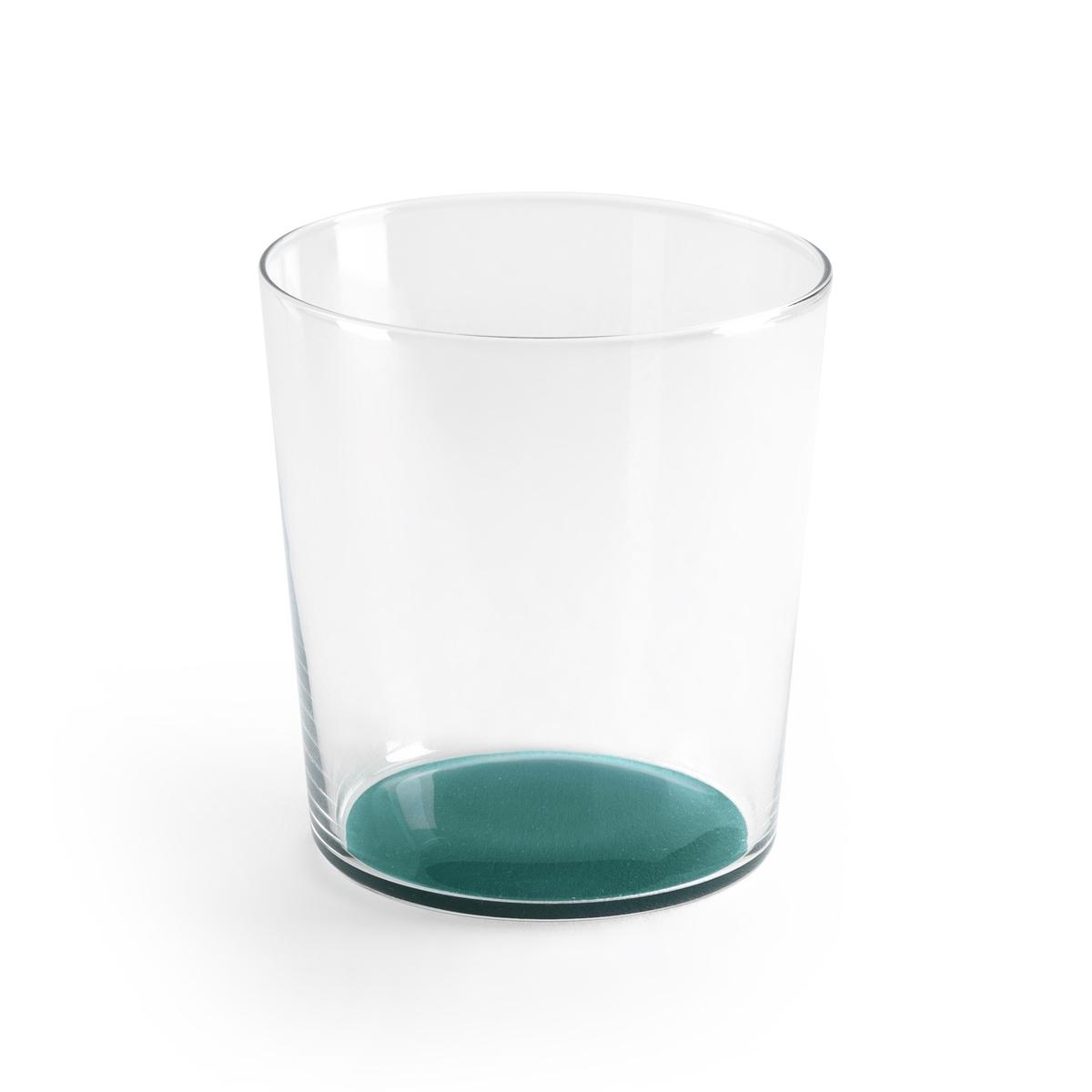 Бокал с цветным дном  LASIALE (4 шт.)Описание:4 бокала La Redoute Interieurs с цветным дном и прозрачными стенками для гармоничной композиции стола.Характеристики 4 бокалов  •  Правильная форма •  Цветное дно •  Подходит для мытья в посудомоечной машинеРазмеры 4 бокалов: •  Диаметр 8,5 см •  Высота 9,2 см  •  Объем: 355 млВсю коллекцию столового декора вы найдете на сайте laredoute.<br><br>Цвет: голубой,зеленый,синий морской