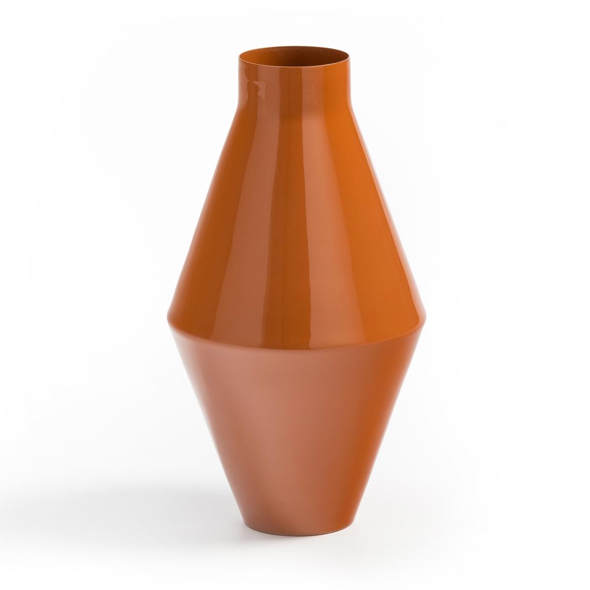 Ваза La Redoute Из металла в стиле -х В см Plana единый размер оранжевый