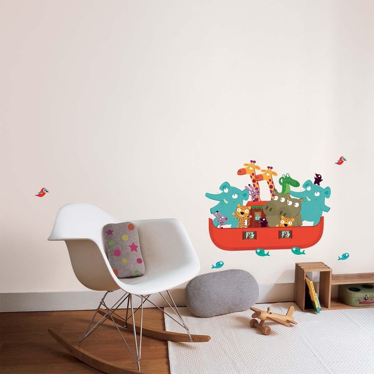 Affiche Sticker mural L'Arche de Noé