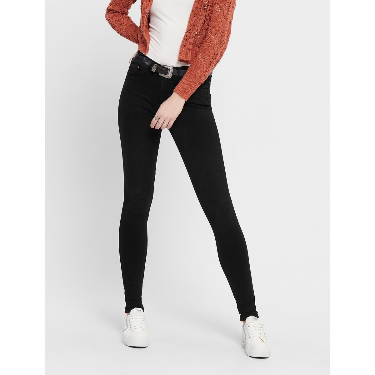 Фото - Джинсы LaRedoute Скинни XS / длина 32 черный джинсы laredoute скинни длина 30 s черный