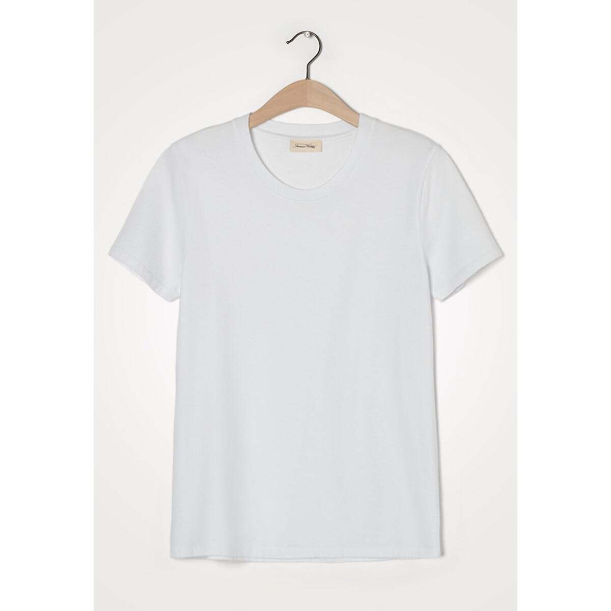 Футболка La Redoute С круглым вырезом и короткими рукавами FIZVALLEY S каштановый футболка la redoute с круглым вырезом и короткими рукавами tova loup s серый