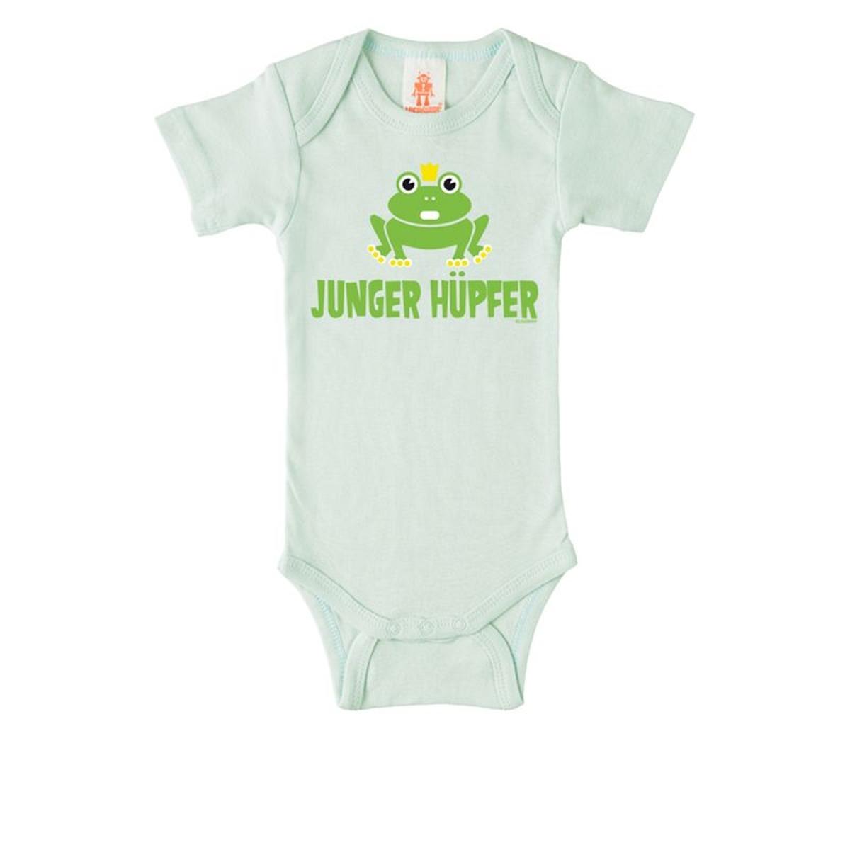 Body bébé Junger Hüpfer -  bleu clair