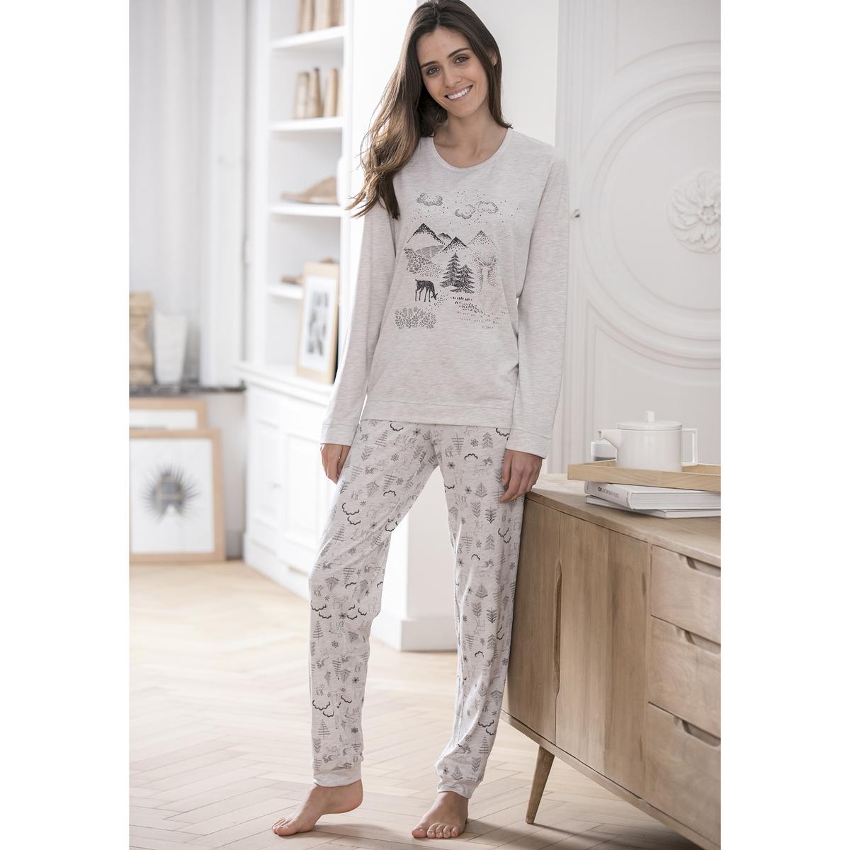 Пижама с длинными рукавами thermolactyl® тапки войлочные thermolactyl®