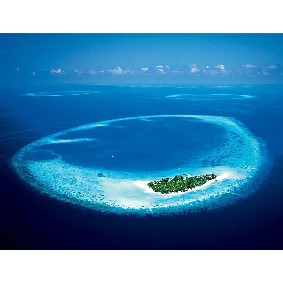 Affiche Île de Maayafushi Maldives