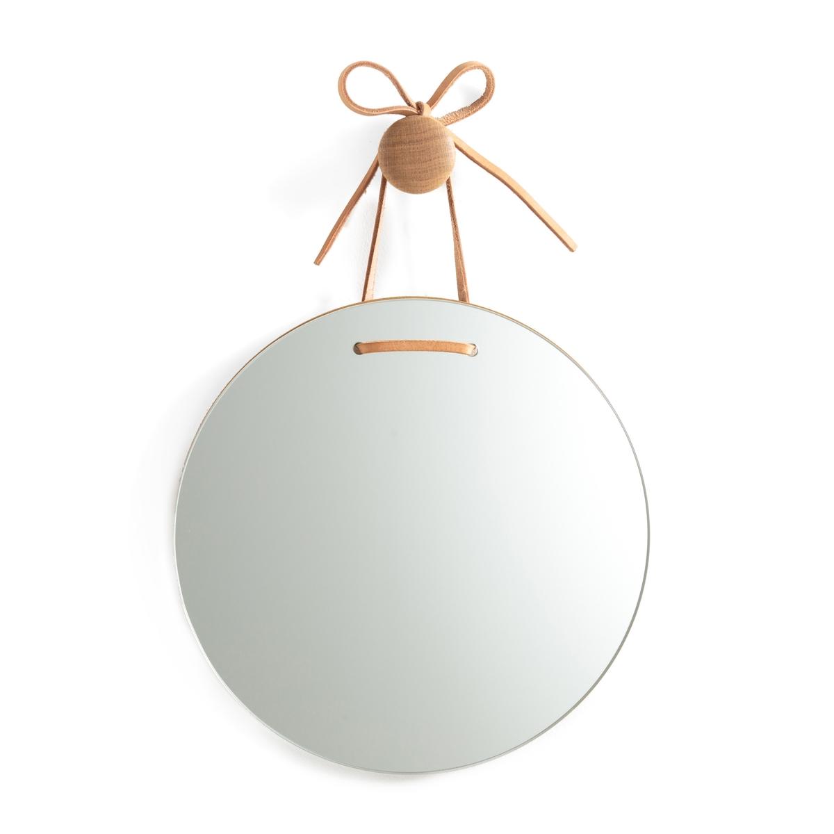 Зеркало La Redoute Круглое 30 см Kashi единый размер другие зеркало la redoute прямоугольное д x в см barbier единый размер другие