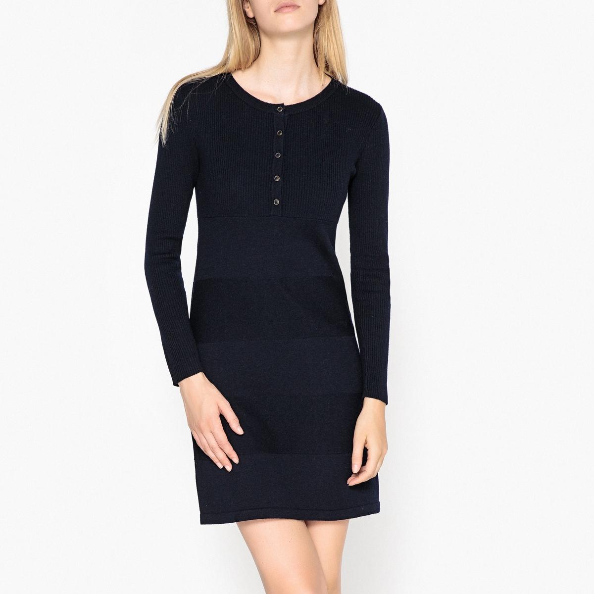 Платье из тонкого трикотажа из 100% шерсти GABRIELA