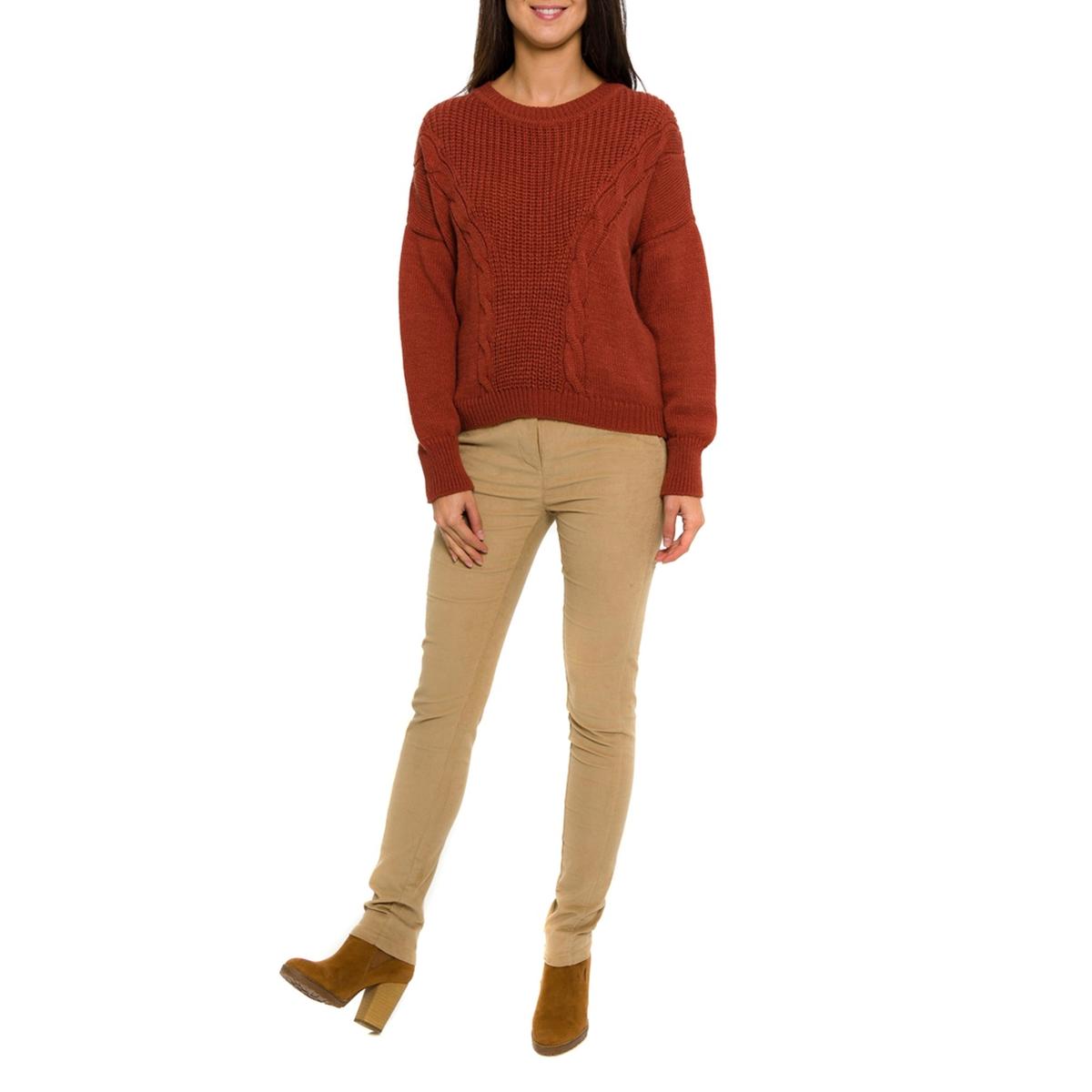 Пуловер с длинными рукавамиСостав и описание     Материал: 100% акрила.     Марка         PARAMITA<br><br>Цвет: бордовый<br>Размер: S.XL.M