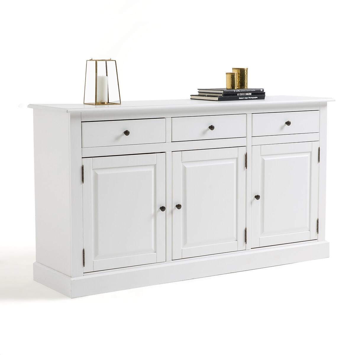 Буфет La Redoute С дверцами и ящиками Authentic Style единый размер белый
