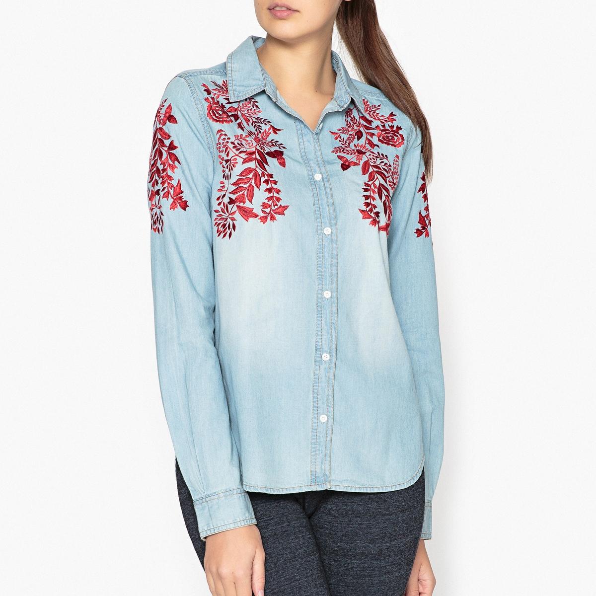 Рубашка с вышивкой ODELA