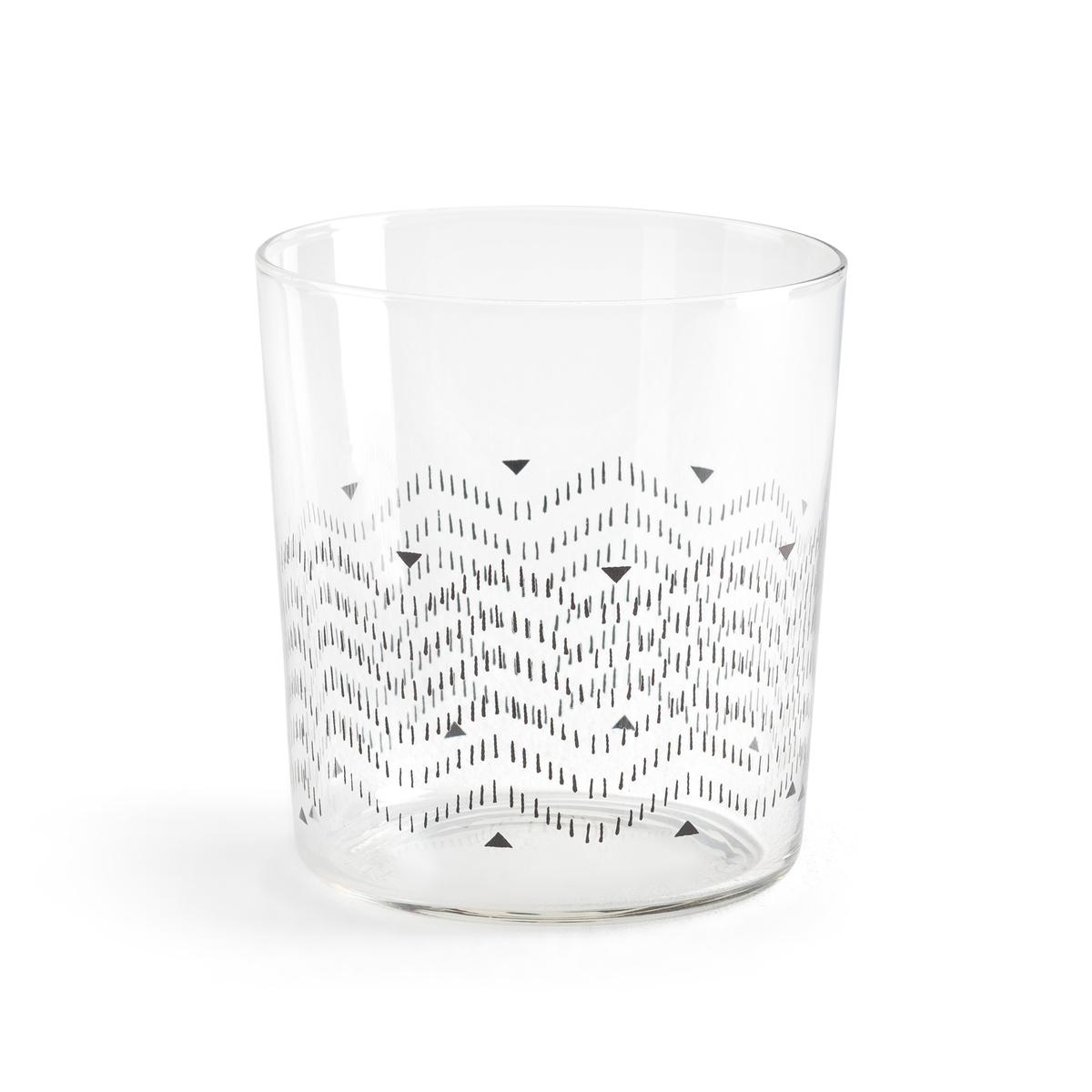 Комплект из 4 стаканов, AFROA La Redoute La Redoute единый размер другие комплект из 4 стаканов afroa la redoute la redoute единый размер другие