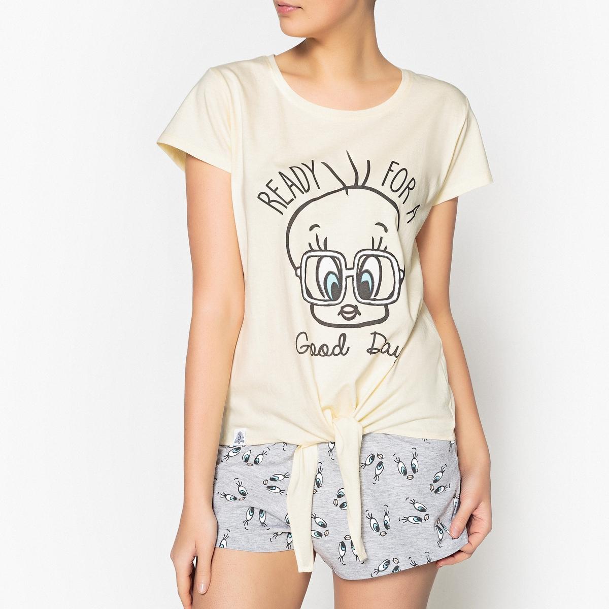 Пижама с рисунком, с шортами Titi solo1 с
