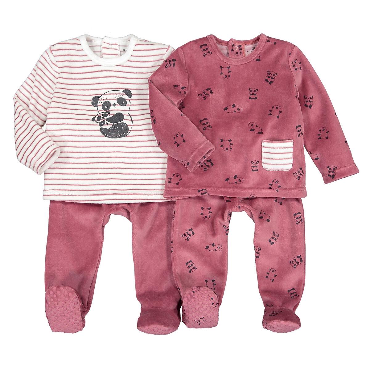 Комплект из 2 раздельных пижам LaRedoute