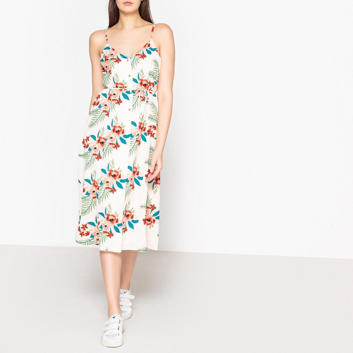 Платье с рисунком на тонких бретелях CHARLOTTE платье с рисунком на тонких бретелях jenny