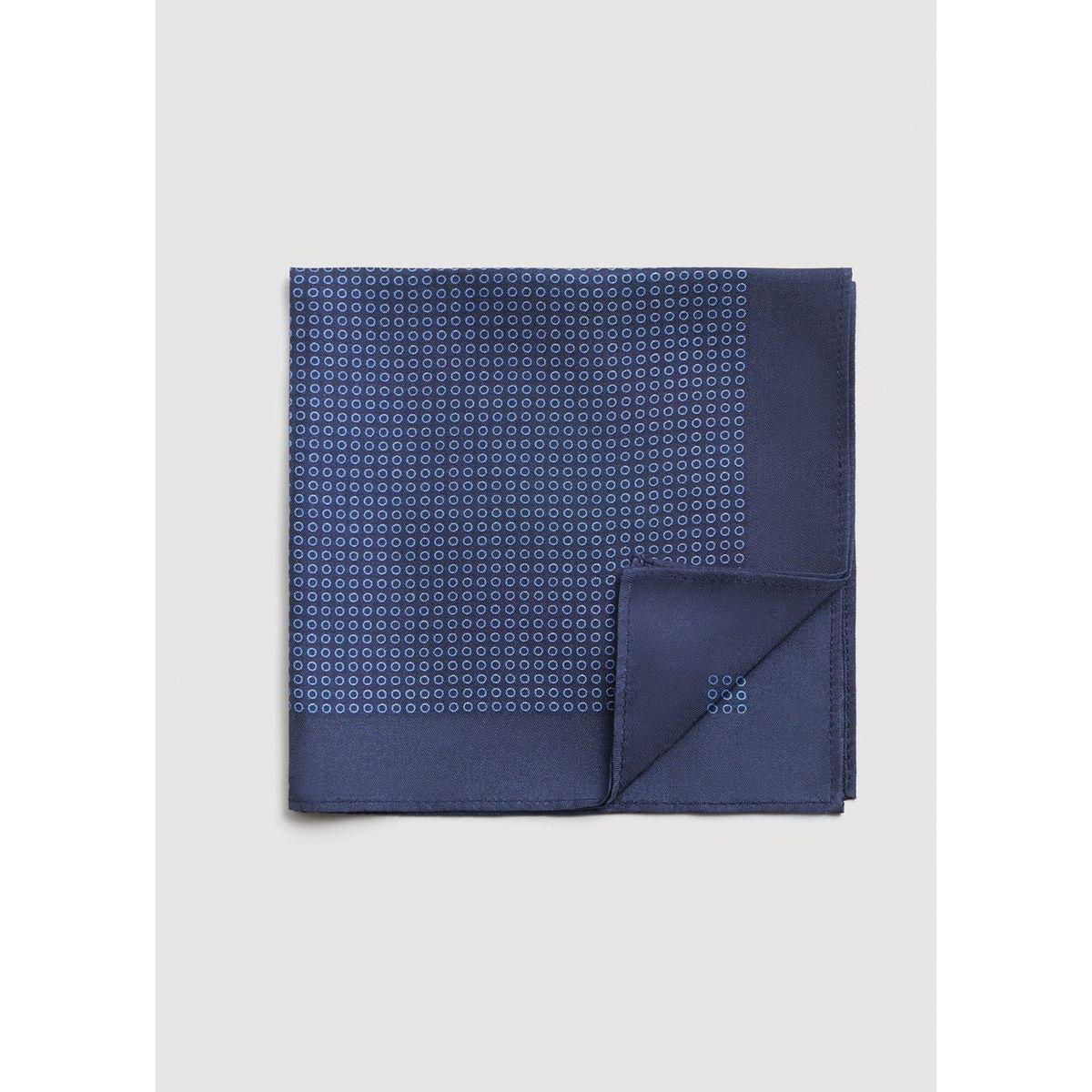 Pochette de costume soie à pois