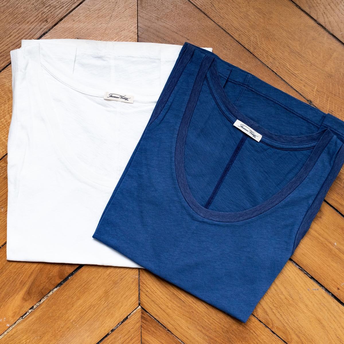 Imagen principal de producto de Camiseta de manga corta, cuello redondo - American Vintage