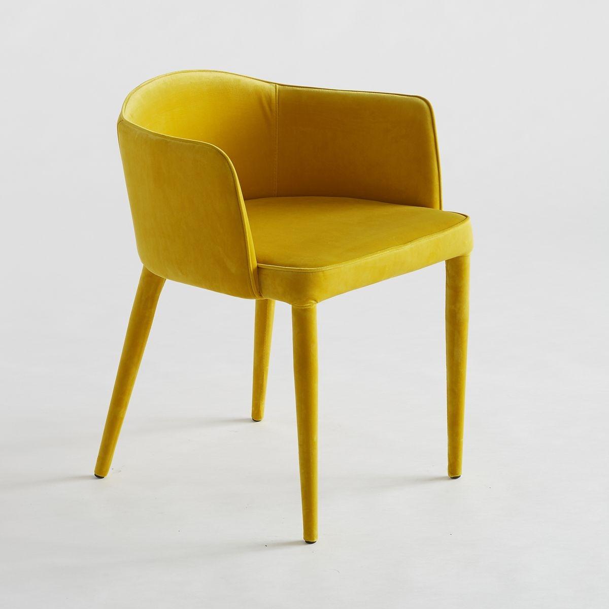 fauteuil de table velours bristol. Black Bedroom Furniture Sets. Home Design Ideas