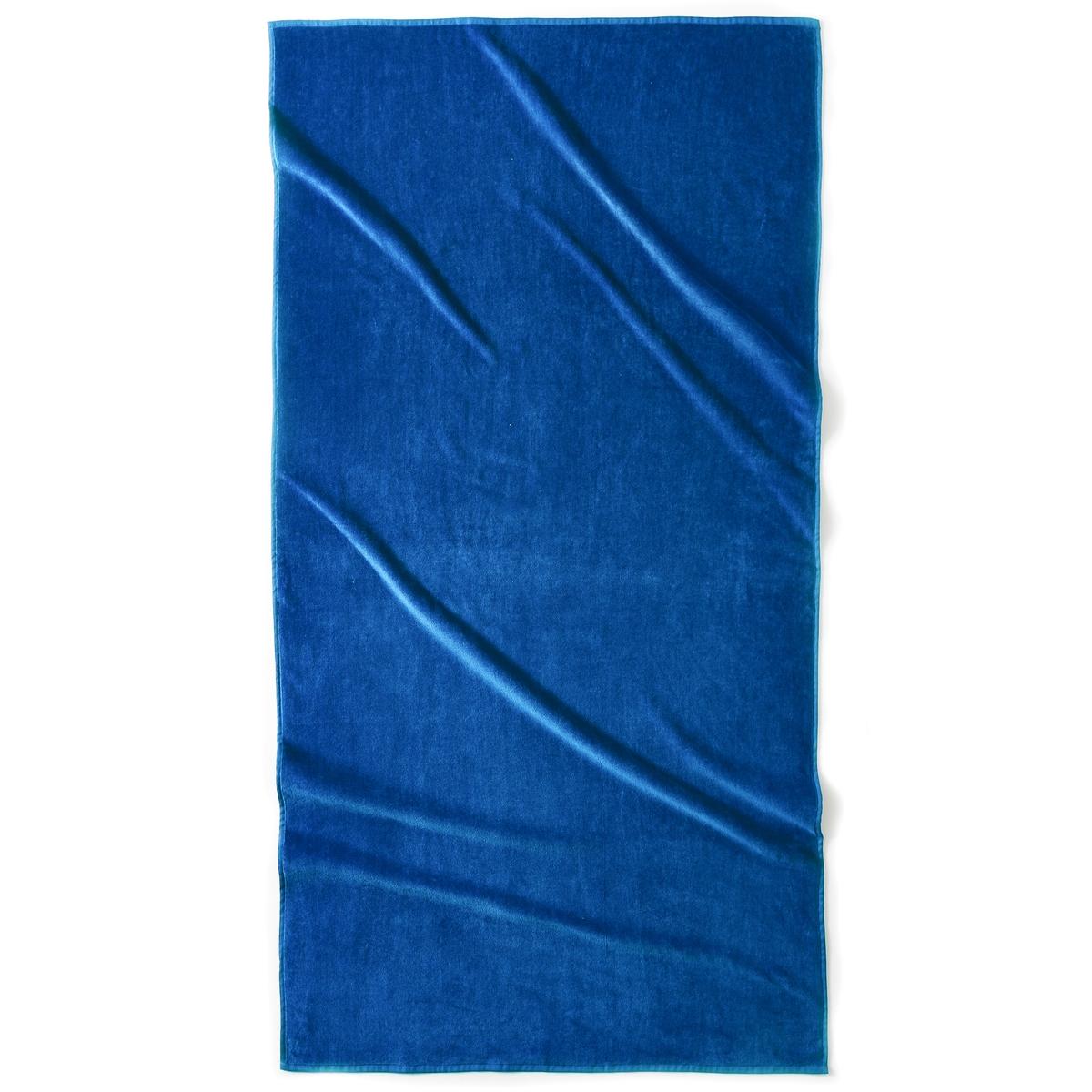 Полотенце пляжное ESTORILПляжное полотенце из 100% хлопка, 420 г/м?. 1 сторона из велюра, 1 сторона из махровой ткани. Размер полотенца: 90 x 175 см. Стирка при 40°.<br><br>Цвет: гренадин,зеленый анис,синий морской волны,темно-серый,фиолетовый<br>Размер: единый размер