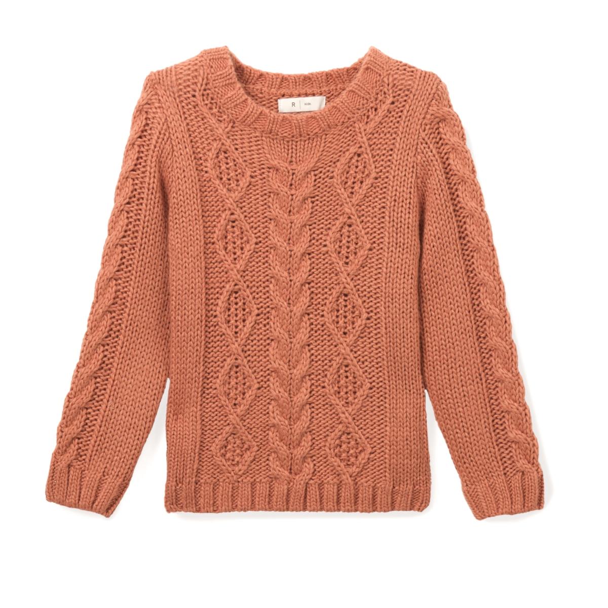 Пуловер из витого трикотажа 3-12 лет
