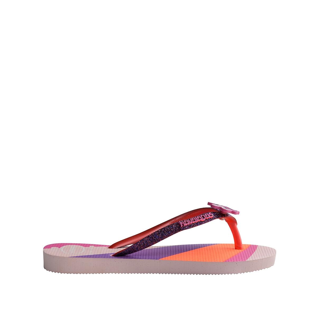 Havaianas Slippers Kids Slim Glitter II Roze online kopen