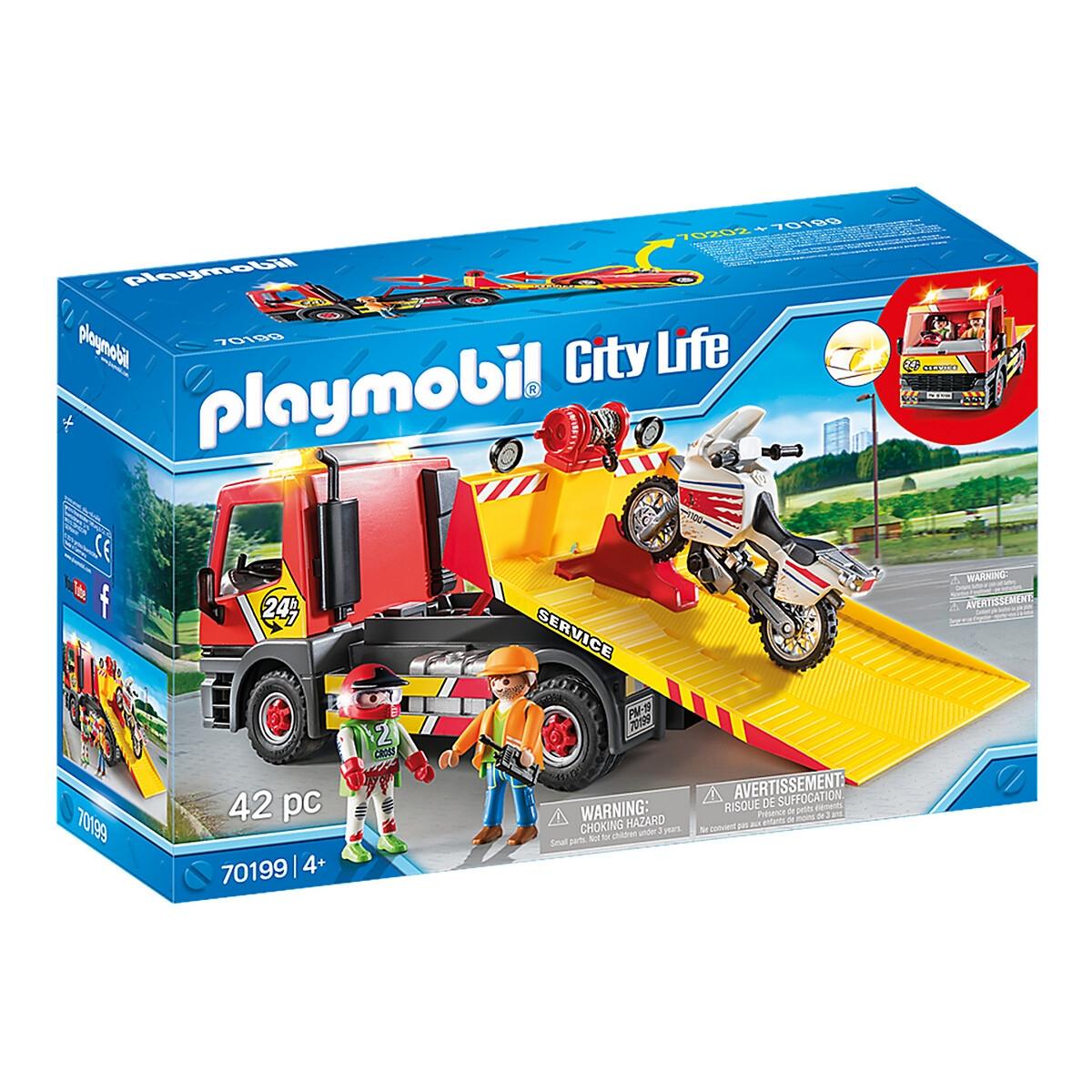 An image of Playmobil Breakdown Truck, 70199