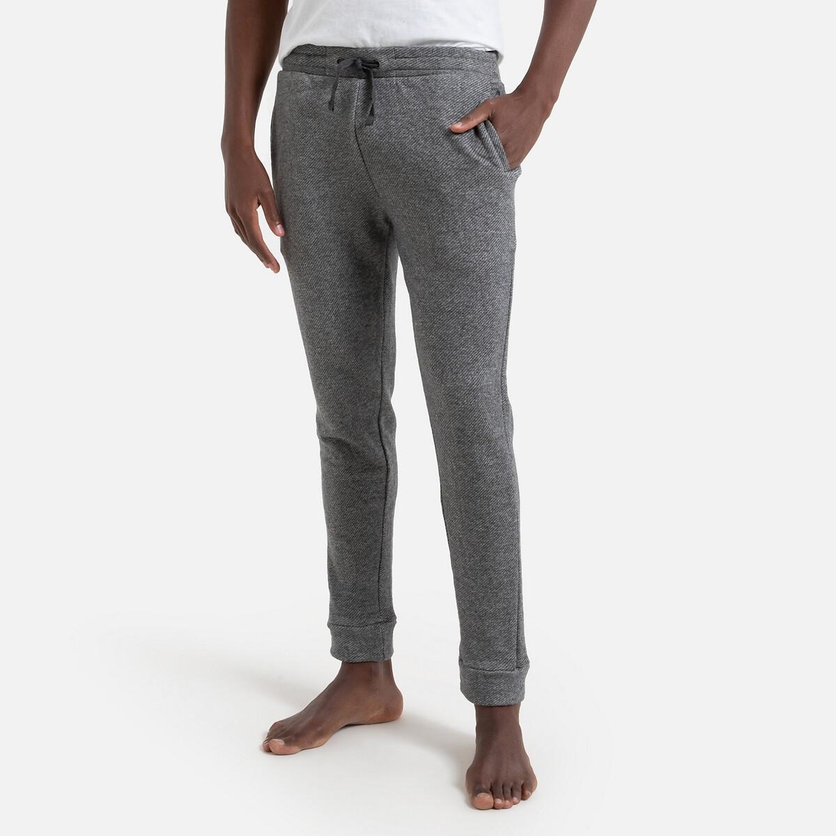 Брюки La Redoute От пижамы из мольтона XL серый шорты пижамные из мольтона
