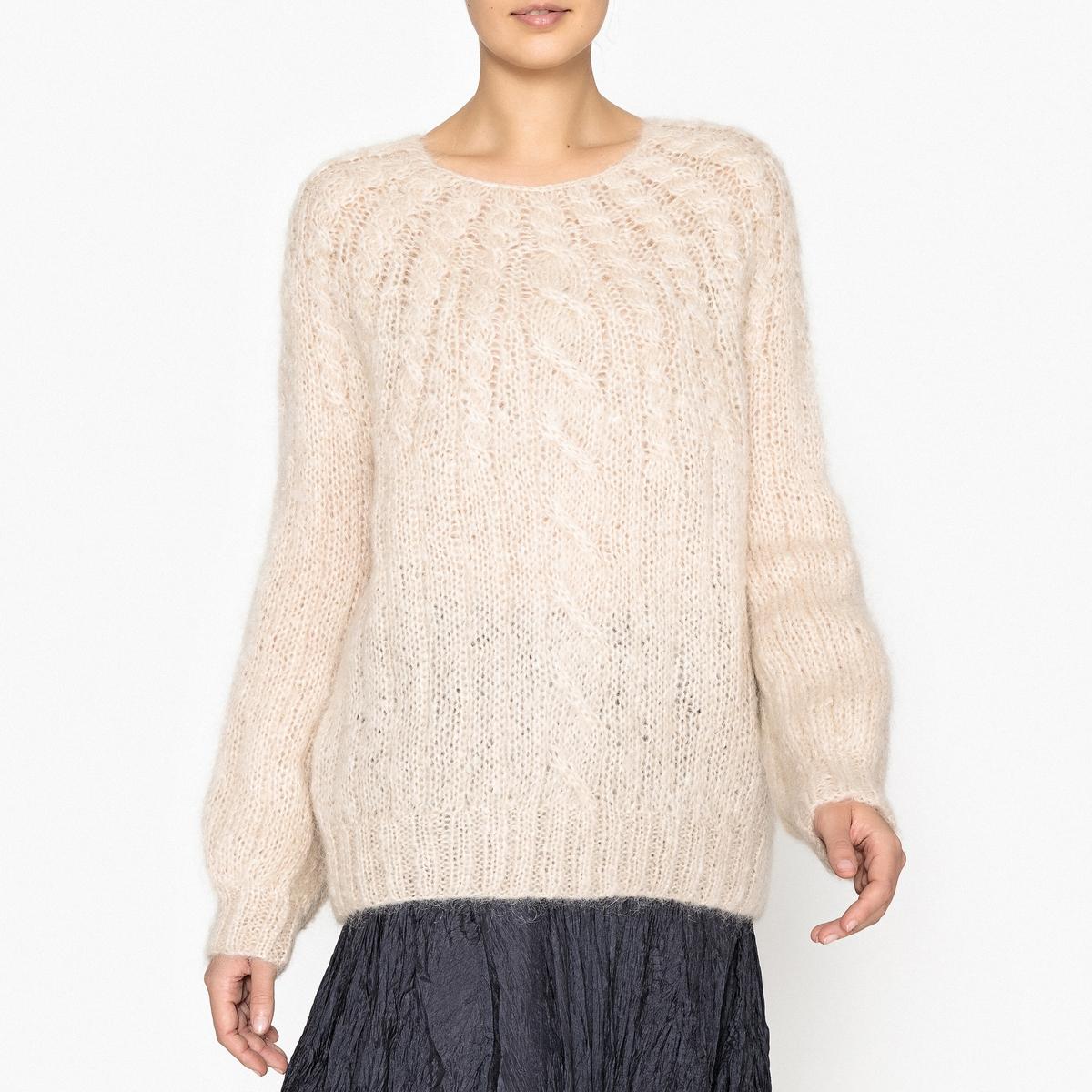 Пуловер из плотного трикотажа DEVA