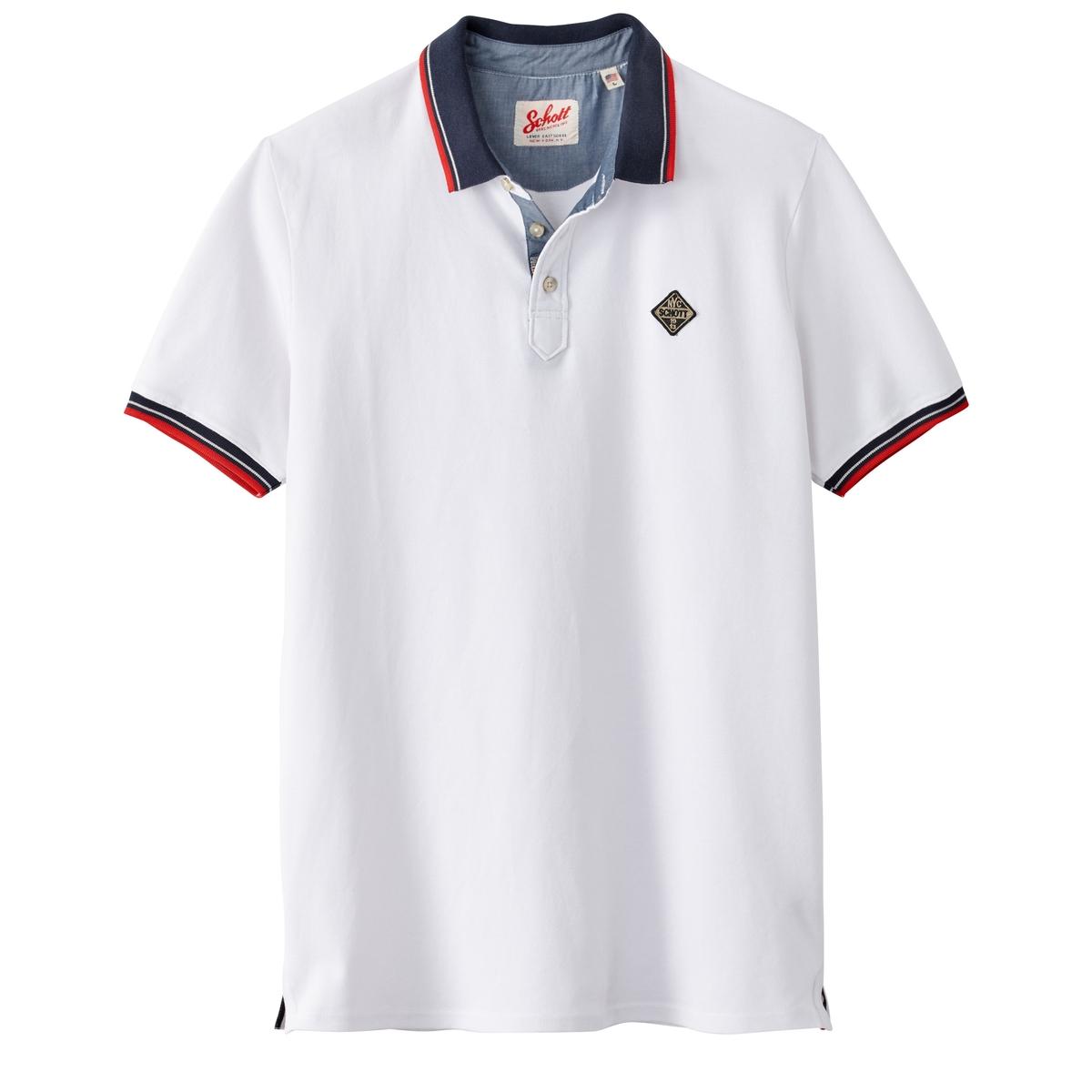 Футболка-поло с короткими рукавами PS Harbour из трикотажа пике футболка поло rj футболка поло
